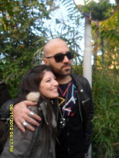 io e Giuliano Sangiorgi (negramaro) @ RDS - Roma 08/11/2012