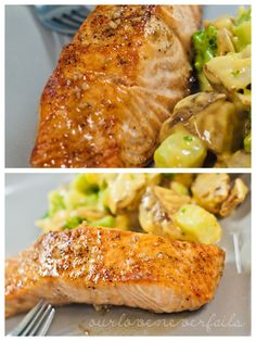 Bourbon Salmon....I wonder if it is much less expensive to make than to purchase at the market already prepared