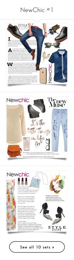 """""""NewChic #1"""" by maidaa12 ❤ liked on Polyvore featuring Ray-Ban, Incase, men's fashion, menswear, Rebecca Minkoff, Victoria's Secret, Gentle Monster, Casetify, H&M and Chanel"""