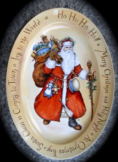Le porcellane di Morena: Natale.... porcellane dipinte a mano hand painted christmas dinnerware - dish ornaments