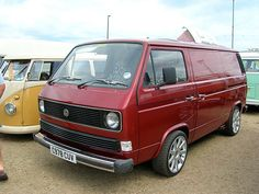 I was going through my iPhoto library the other day and could not believe how many shots I had of random VW Camper Vans. Vw T3 Camper, Vw Bus T3, Volkswagen Bus, Audi, Porsche, Van Conversion Project, Vw Vanagon, Vintage Vans, Custom Vans