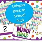This Pack contains everything you need to start your year.  From WELCOME TO _____ GRADE (grades 1-5 included) spelled out on pennants, to the alpha...