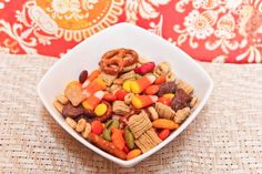 Easy, delicious and healthy Fall Snack Mix recipe from SparkRecipes. See our top-rated recipes for Fall Snack Mix. via @SparkPeople