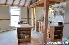 Simple cottage yurt interior! Read more: http://www.twosticksandaboard.com/category/adventure/whitefish-montana-yurt/