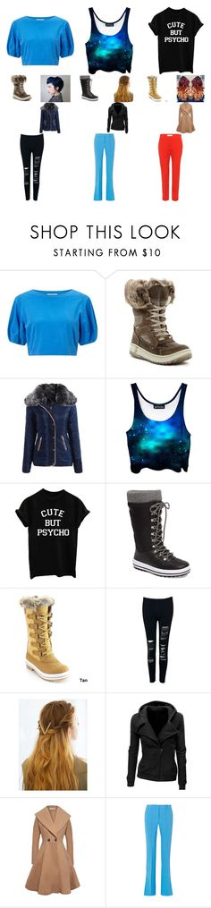 """three choices"" by galaxythetiger ❤ liked on Polyvore featuring Miss Selfridge, Santana Canada, Cougar, WithChic, Victoria, Victoria Beckham and Etro"