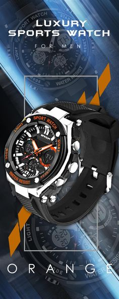 Rapture 2019 Outdoor Sport Timekeeping Waterproof Mens Multi-function 50m Waterproof Watch Led Digital Double Action Watch Modern And Elegant In Fashion Men's Watches Watches