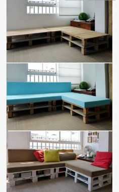How to make a crate couch