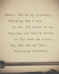 Jesus, you are