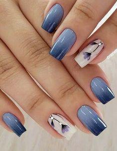 Elegant Nail Designs, Elegant Nails, Stylish Nails, Beautiful Nail Designs, Spring Nail Art, Nail Designs Spring, Spring Nails, Fall Nails, Gorgeous Nails