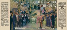 The Phantom of the Opera (photoplay edition) by Gaston Leroux Grosset & Dunlap, first printing. Gaston Leroux, Phantom Of The Opera, Book Making, Mini Books, Book Covers, Magazines, Barbie, Printing, Printables
