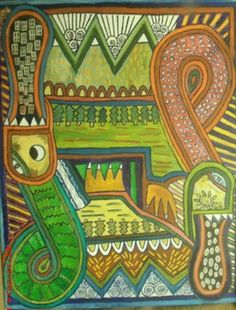 Celtic Earth Day by Susanne Jensen on canvas
