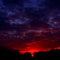 The suns daily birth. Great sunrise.