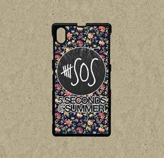Sony Xperia Z2 case floral pattern Sony Xperia Z1 case Sony Xperia Z case Sony Xperia Z2 cases Htc One S/X/m8 cover 5 seconds of summer Google Nexus 5 case by Ministyle360, $14.99