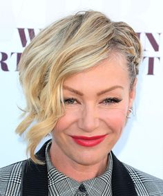 Hairstyles for Short Wavy Hair - Portia De Rossi Goes Short and Wavy.