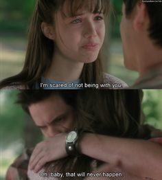 Seriously obsessed with a walk to remember at the moment