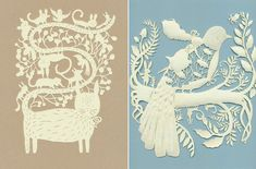 Elsa Mora papercut art
