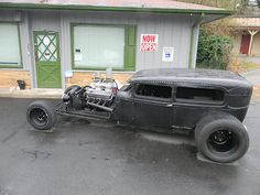 Ford : Model A WICKED RAT ROD 1930 FORD MODEL A--R - http://www.legendaryfinds.com/ford-model-a-wicked-rat-rod-1930-ford-model-a-r/