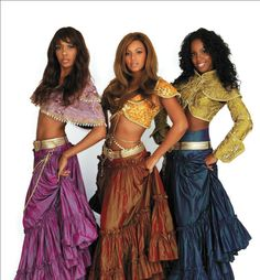 Destiny's Child... Intersting to see how Hip Hop embraces other cultures