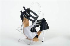 Fabulosa grey and black dance shoes