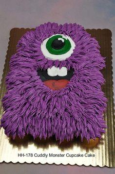 MONSTER CAKE cupcakes live love love so for Hunter's BDay?