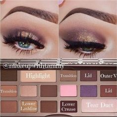 .@makeupwithtammy | ✨Color Placement and Written Tutorial✨ using the @Sarah Long Faced Cosmetics Chocolate Bar pale... | Webstagram