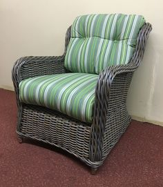 Outdoor Wicker Wing  Chair