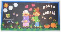 Lindos Painéis para decorar a sua Festa Junina | Atividades Jardim colorido para o Ensino Infantil