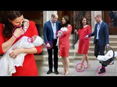 (188) Royal baby: Experts analyze William & Kate's body language with their second SON - YouTube
