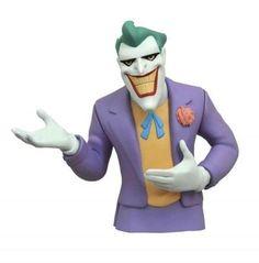 Batman Animated Series Joker Bust Bank (General merchandise) by DC Comics