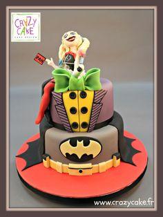 Batman - Cake by Crazy Cake