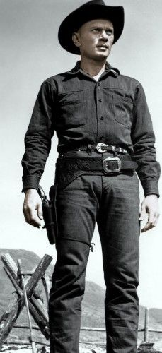 Yul Brynner in The Magnificent Seven. I've had a sort of crush on him for quite a bit of my life.