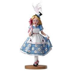 Figurine Alice au pays des Merveilles Mascarade - Haute Couture