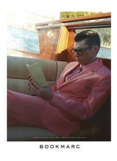 #Cole #Mohr for Marc Jacobs - Bookmarc S/S 14 Campaign source: marcjacobs.com photographer: Juergen Teller