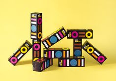 Allsorts sweets packaging by Cloetta.
