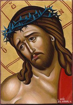 Christ the Bridegroom by Alexandra Kaouki Religious Pictures, Religious Icons, Religious Art, Roman Church, Spiritual Paintings, Paint Icon, Biblical Verses, Jesus Art, Byzantine Icons