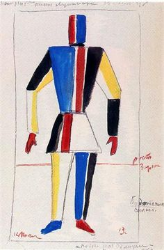 The Athlete of the Future, 1913 - Kazimir Malevich