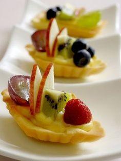 【ELLE a table】小さなフルーツタルトレシピ|エル・オンライン