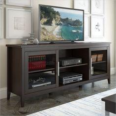 Sonax CorLiving Jackson TV Bench in Espresso - TFP-684-B