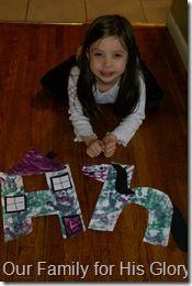 Letter Hh crafts