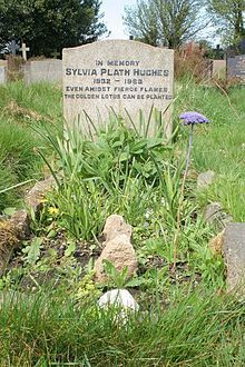 Sylvia Plath gravesite. One of the coolest experiences of my life.