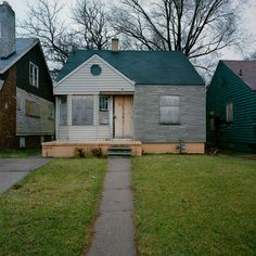 abandonment in Detroit in the mid 90's by Kevin Bauman
