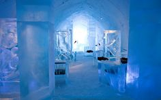 best design projects: Meet Sweden's Famous Icehotel Now Open Year-round