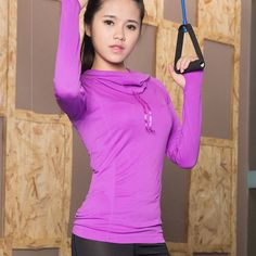 Hooded Yoga Long Sleeve Shirt    https://zenyogahub.com/collections/casual-tops/products/hooded-yoga-shirts