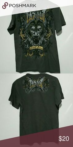 Men's tap out shirt Excellent condition size large Shirts Tees - Short Sleeve