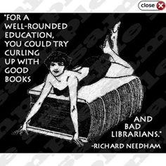 Naughty librarian