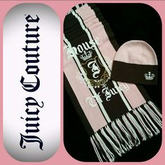 Juicy Couture - Scarf & Beanie Set Nwot