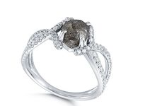 Black diamond engagement rings are gorgeous and unique. This diamond is not only popular for its rarity but for its luxury as well. Engagement Ring Stores, Diamond Engagement Rings, Black Diamond, Jewelry Rings, Wedding Rings, Rarity, Luxury, San Diego, Engagement Rings