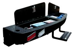 Outfit your truck camper with the Palomino Landing Pad bumper, Space Dock and Lock and Load SideKick Truck Flatbeds, Truck Mods, Truck Camping, Pickup Trucks, Ram Trucks, Truck Accesories, Rv Accessories, Accessoires 4x4, Vw T3 Syncro