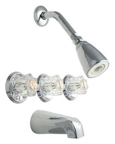 Three Handle Shower Faucet Repair