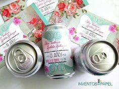 DIY -botellas personalizadas-